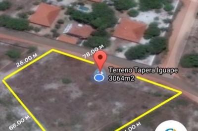 Terreno 3064 m² Tapera Iguape Aquiraz